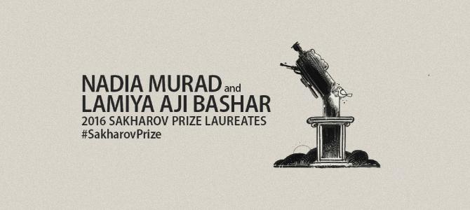 Premio Sajarov para dos mujeres yazidíes liberadas de manos del Daesh