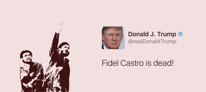 """""""Fidel Castro ha muerto"""": ¿hasta dónde tiene que llegar la diplomacia?"""